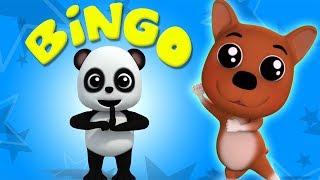 Бинго собака   детские рифмы   Baby Bao Panda   Bingo Dog Song