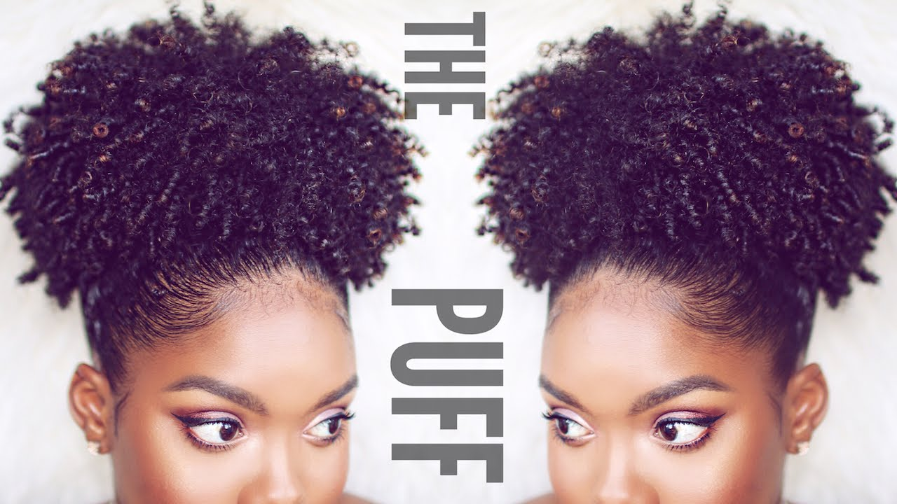 You Tube Natural Hair Styles: Puff Tutorial On Natural Hair - YouTube