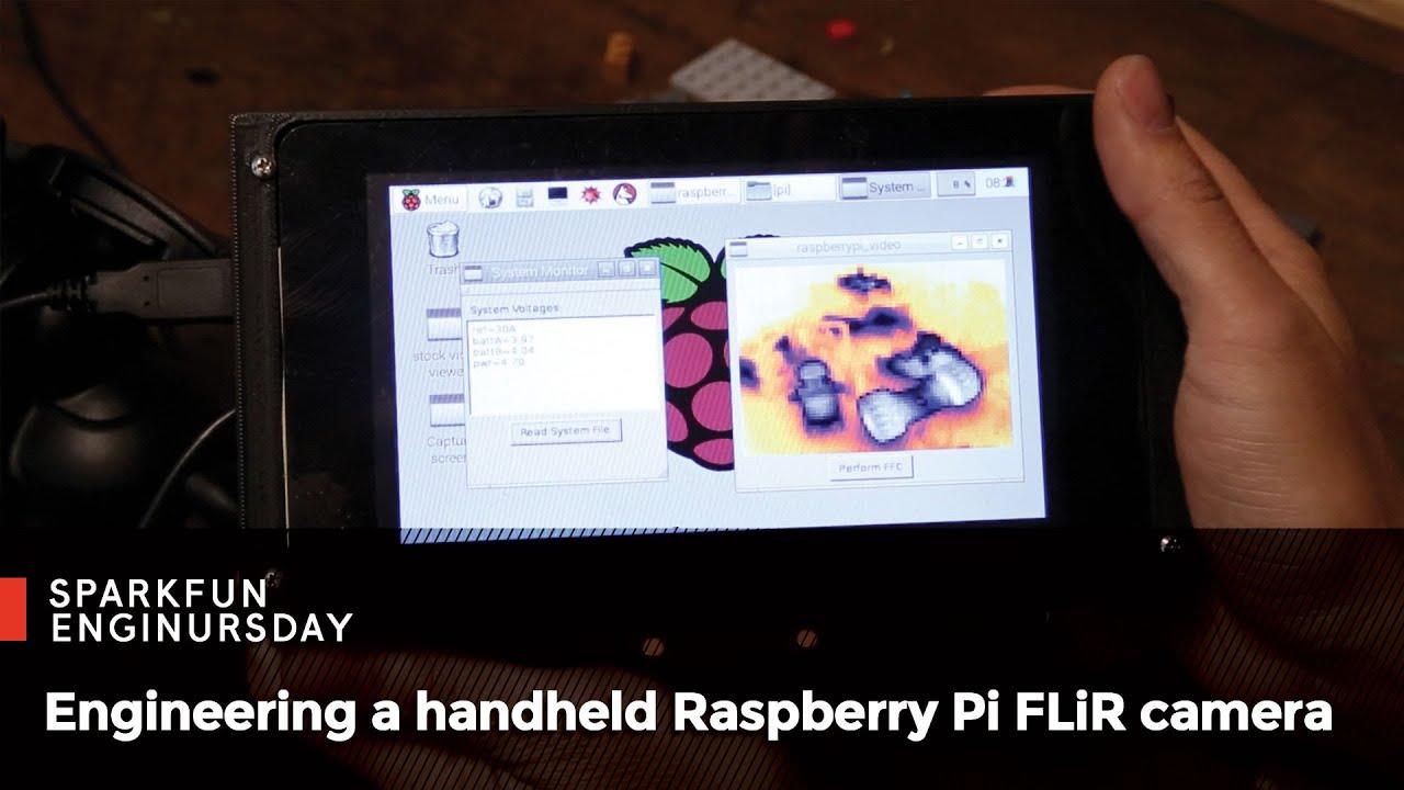Enginursday: Handheld Raspberry Pi FLiR Camera!