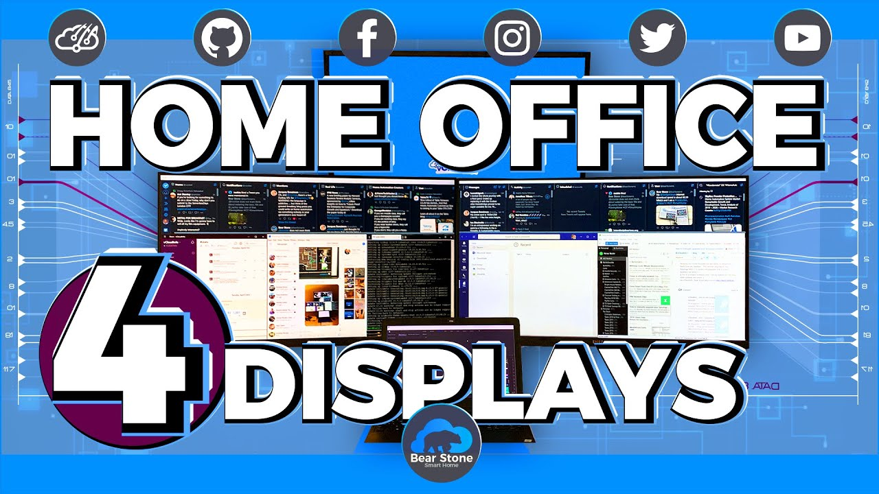 Dell P2719H Monitors Home Office - Unboxing and Setup