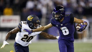 Football: no. 6 washington overwhelms cal in decisive 38-7 win