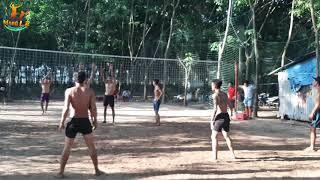 BÓNG CHUYỀN ĐỘ.team Bình Dương 4 vs 4 team Bạc Liêu