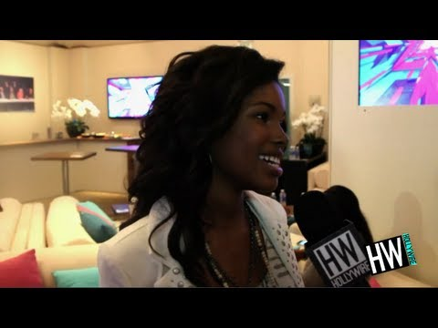Diamond White Talks Carly Rose Friendship & Plays Silly Game