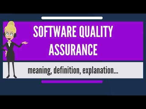 What is SOFTWARE QUALITY ASSURANCE? What does SOFTWARE QUALITY ASSURANCE mean?