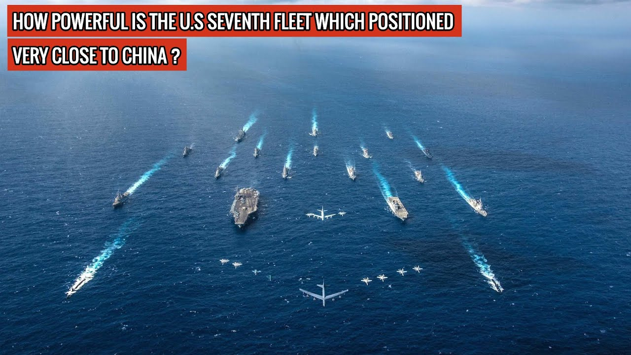 MIGHTER THAN ENTIRE MILITARY MACHINERY OF MANY COUNTRIES - U.S 7th FLEET IS DETERRENCE TO CHINA !