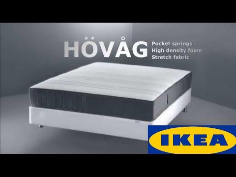 Boxspring Matras Ikea : Ikea матрас ховог х hovag Процесс всасывания воздуха youtube