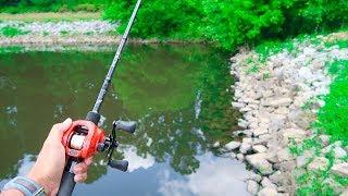 Summer Bass Fishing - WALMART Challenge!