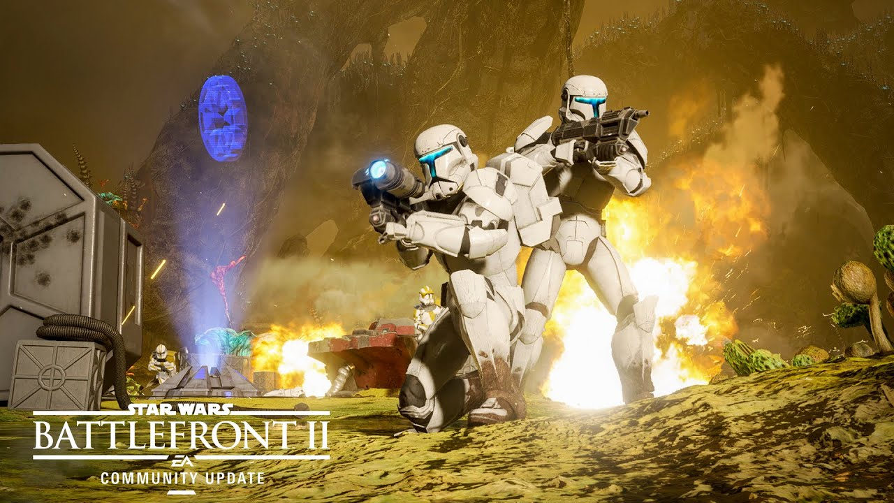 Star Wars Battlefront 2: New Planet, Modes, and Reinforcement ...