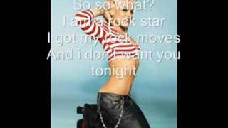 So What - P!nk (Download + Lyrics)