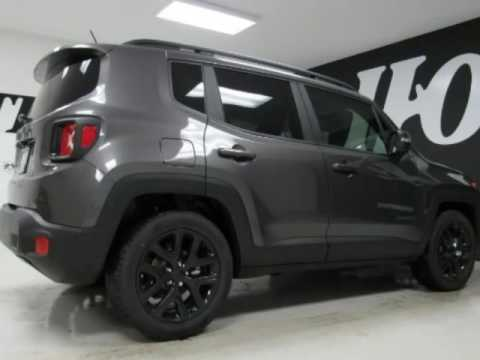 2017 Jeep Renegade Laude New Gray Suv For Bonham Tx