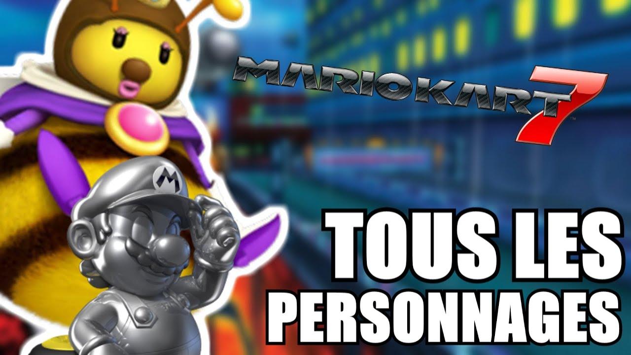 Tuto comment d bloquer tous les personnages de mario - Personnage mario kart 7 ...