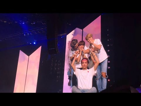 091018 Answer (Love Myself) : BTS 방탄소년단 Love Yourself Tour in London Fancam 직캠