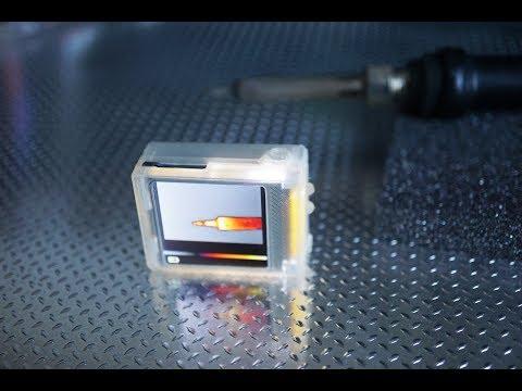 Miniature thermal camera scorpio v5c
