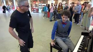 When Dr Boogie Bumped Into Mr Piano - EPIC DUET