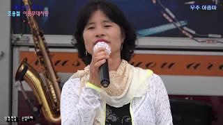 유튜브조회수 200만돌파 무주아줌마2탄 / 동백아가씨.초혼.천년화.(거리의악사 조용철 차량무대)