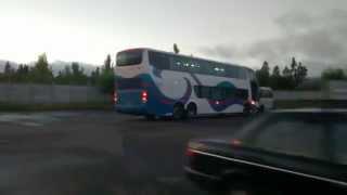 Marcopolo Paradiso 1800DD G6 / scania K-420 / Sol del pacifico [con diseño de eme bus]
