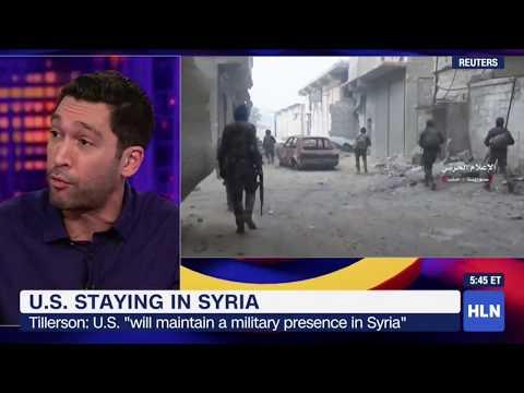 Comedian Dave Smith on Regime Change In Syria, SE Cupp CNN HLN 1.2018