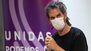 Alberto Rodríguez dejará el cargo de secretario de Organización de Podemos