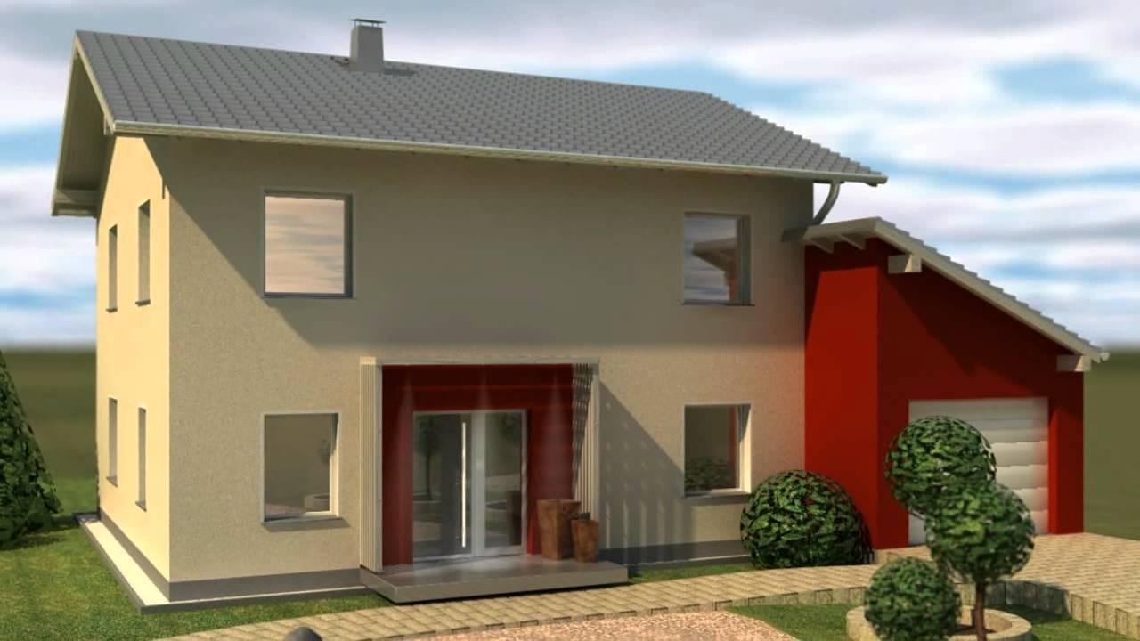 3d Architektur Einfamilienhaus Youtube