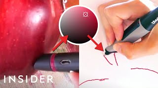 This pen copies the colors around you and lets you draw with them