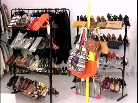 b802e5b17d1 Brechó vende roupas de marcas famosas - YouTube