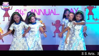 Blooming Buds High School 24th Annual Day Celebration NZB 09 Health song[4.class]