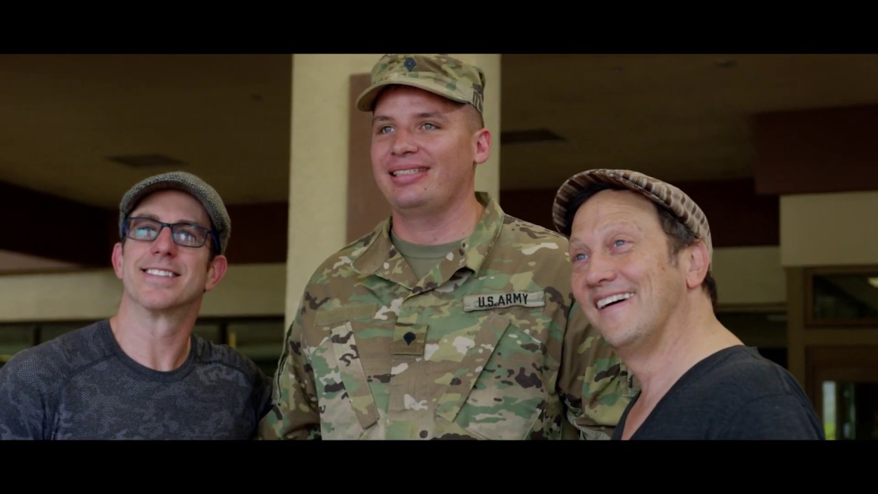 Rob Schneider Military Tour - Armed Forces Entertainment Recap Video for Station Avenue Productions
