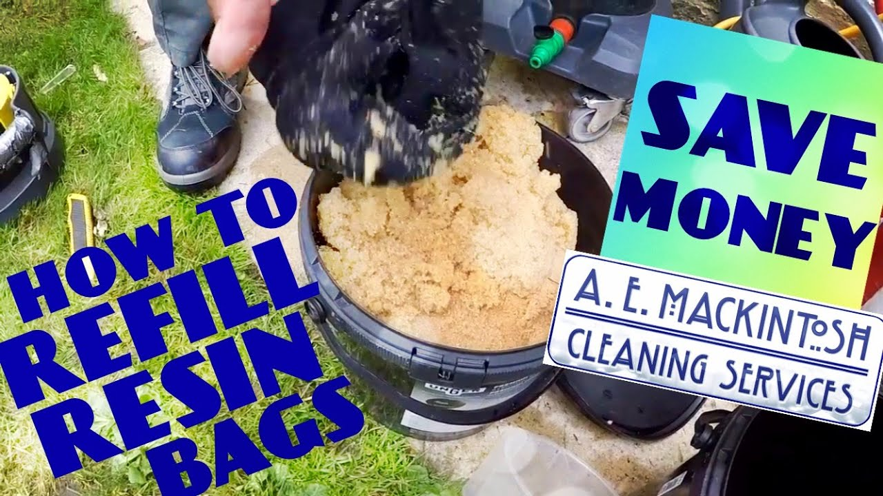 Save Mony By Refilling Your Resin Bags! - For Hydro Power DI