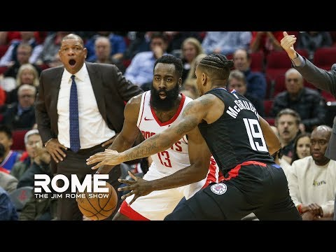 Harden DROPS 47 Points While Doc Rivers Gets Ejected  The Jim Rome Show