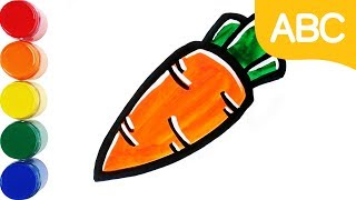 Vegetable Coloring   Learn Color   Learn Coloring   Learn English   Learn ABC   Mini Art Kids