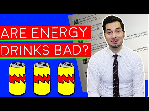 Energy Drinks | Are Energy Drinks Bad For You