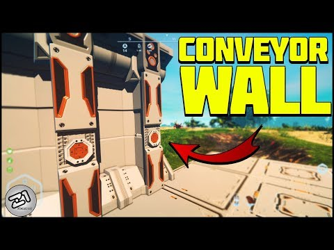 CONVEYOR WALL ! This Is AMAZING ! Planet Nomads Gameplay | Z1 Gaming