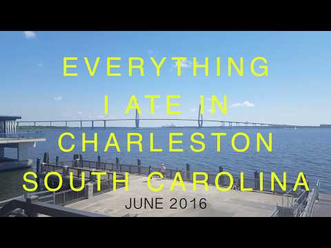The BEST food in Charleston, South Carolina