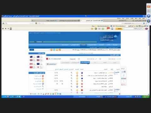 ندوة تحليل السوق هذا الاسبوع  20 مايو 2012 المتداول العربي