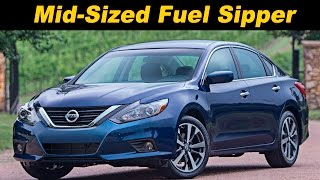 2016 Nissan Altima Review and Road Test - First Drive in 4K
