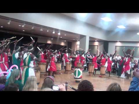 Burundi Drummers, Dayton, Ohio May 17, 2014