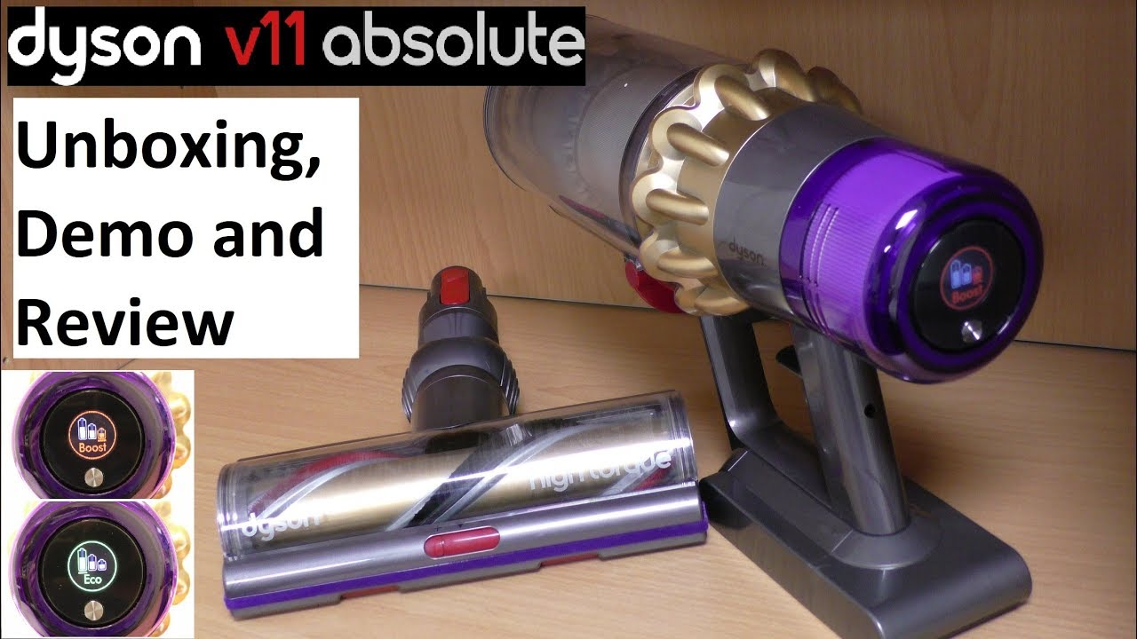 Dyson V11 Absolute Cordless Vacuum Cleaner - YouTube