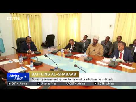 Somali government agrees to national crackdown on militants