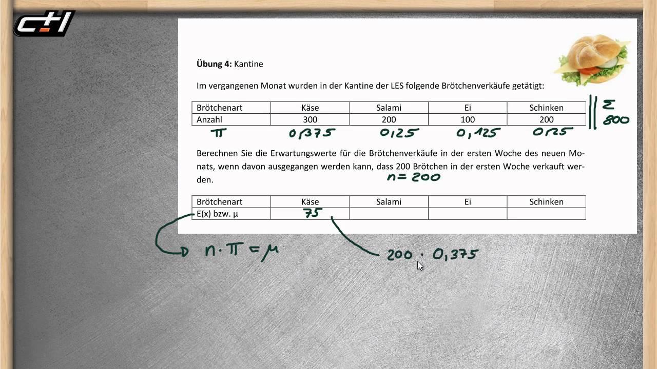 Binomialverteilung Berechnen : erwartungswert berechnen binomialverteilung bung mit ~ Themetempest.com Abrechnung
