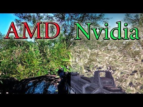 Кто Красочнее? AMD VS Nvidia   ФИНАЛ