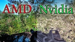 Кто Красочнее AMD VS Nvidia ФИНАЛ