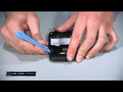 ColorWare BlackBerry Curve 8900: Parts Instructions