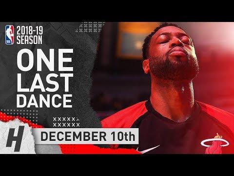 Dwyane Wade Full Highlights Heat vs Lakers 2018.12.10 - 15 Pts, 10 Ast, LAST Game in LA