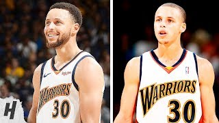 Stephen Curry First Regular Season Game vs Last Game at Oracle Arena