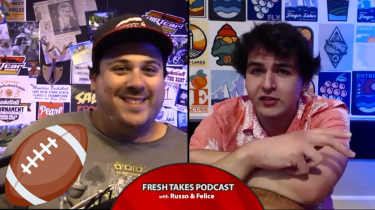 College Football Preview & del Lago Sportsbook reaction .::. Fresh Takes w/ Russo & Felice 8/27/19