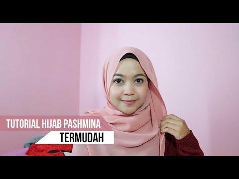 Tutorial Hijab Pashmina Untuk Sehari Hari Ke Kampus Tersimpel Youtube