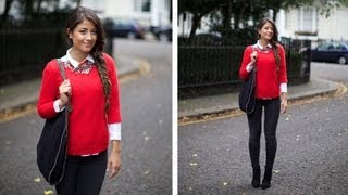 Classy Fall Outfit of the Day Thumbnail
