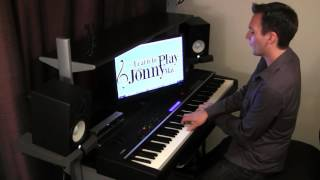 Once Upon a Dream from Disney's Sleeping Beauty - Ragtime Piano by Jonny May