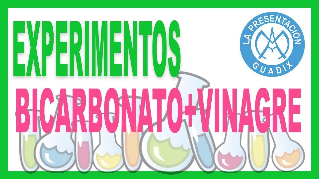 Experimento mezcla bicarbonato mas vinagre - Como limpiar la lavadora con vinagre y bicarbonato ...