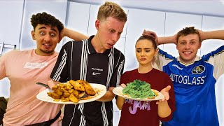 YOUTUBER COOK OFF VS TALIA MAR